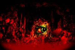 mörk skräck vektor illustrationer