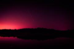 mörk sky Royaltyfri Fotografi