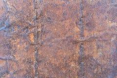 Mörk sliten rostig metall för texturbakgrund royaltyfri foto