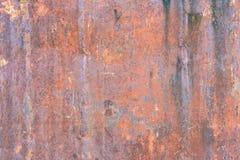 Mörk sliten rostig metall för texturbakgrund royaltyfria foton