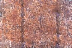 Mörk sliten rostig metall för texturbakgrund royaltyfri fotografi