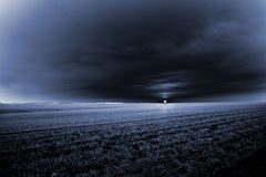 mörk soluppgång Royaltyfria Bilder