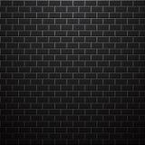 Mörk tegelstenvägg Det kan vara nödvändigt för kapacitet av designarbete Fotografering för Bildbyråer