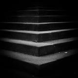 mörk trappa Arkivbilder