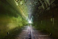 Mörk tunnel - ingen Arkivfoto