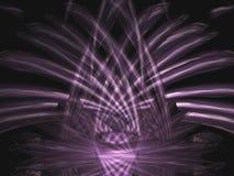 mörk violet 3 vektor illustrationer