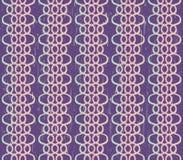 Mörk violett bakgrund med skinande snör åt Royaltyfri Bild