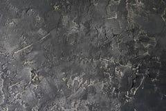 M?rk vit gr? cement eller betongv?gg Grunge rappad stuckatur texturerad bakgrund arkivfoto