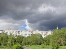 mörk white för surface vatten för sky för floesishav Royaltyfria Bilder