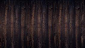 Mörk wood bakgrund texturerade bästa sikt med tomt utrymme för baksida arkivfoto