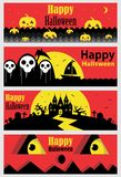 mörka halloween Royaltyfri Fotografi