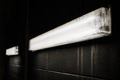 mörka lampor Arkivfoton