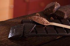 mörka rich för choklad Royaltyfria Bilder