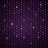 Mörka Violet Shiny Pattern Royaltyfria Bilder
