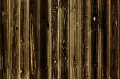 Mörka wood paneler för brun ek som används som bakgrund seamless modell Royaltyfri Foto