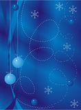 Mörkblå bakgrund Arkivfoto