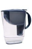 Mörkblått filter för vattenbehandling Fotografering för Bildbyråer