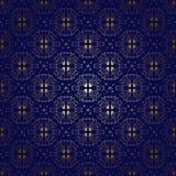 Mörker - blå tappningbakgrund med lutning - vektor stock illustrationer