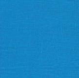 Mörker - blå tygtextur Royaltyfri Foto