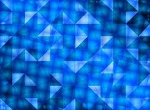 Mörker - blått Arkivbilder
