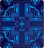 Mörker - blått Royaltyfri Fotografi