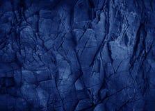 Mörker - blått kritiserar bakgrund Royaltyfri Fotografi