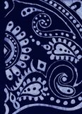 Mörker - blått och ljus - blå batikbakgrund Royaltyfri Foto