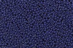 Mörker - blåttpärlor Arkivbild