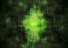 Mörker - geometrisk bakgrund för grön vektor Royaltyfri Foto