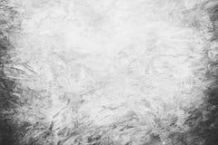 Mörker - grå betongvägg med ljus för designblackdrop eller samkopiering royaltyfri bild
