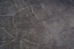 Mörker - grå nubucktextur Royaltyfri Foto