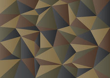 Mörker - grön kamouflagepolygonbakgrund Arkivfoto