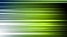 Mörker - grönt blått techabstrakt begrepp gör randig den videopd animeringen stock video