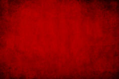 Mörker - röd grungebakgrund Fotografering för Bildbyråer
