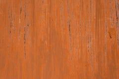 Mörker - röd rosttextur Arkivbild