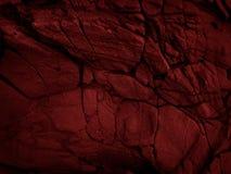 Mörker - röd stentextur Royaltyfri Foto