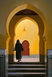 Marrakech gatapassage Fotografering för Bildbyråer