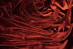 mörkröd sammet Royaltyfri Foto