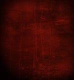 mörkröd skrapad vägg Fotografering för Bildbyråer