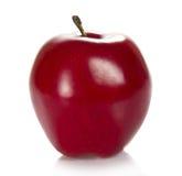 Mörkrött äpple fotografering för bildbyråer