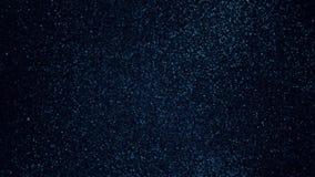 Mörkt - blått skimrar textur Kornabstrakt begreppbakgrund arkivfoto
