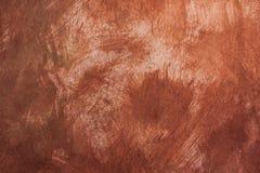 Mörkt brunt prickigt papper som bakgrund Arkivbilder