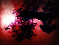 mörkt färgpulver Arkivfoton
