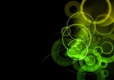 mörkt - green Royaltyfri Fotografi