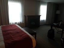 Mörkt hotellfölje Royaltyfria Bilder