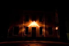 Mörkt hus Royaltyfria Foton