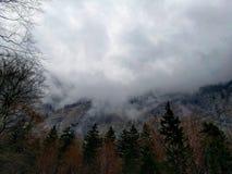 Mörkt och molnigt Royaltyfri Fotografi