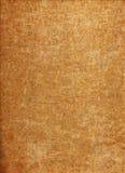 Mörkt - orange Grunge Paper textur Royaltyfri Fotografi