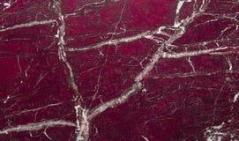 Mörkt - rött marmorslut upp royaltyfri fotografi