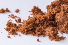 Mörkt socker och rotting för rått socker Arkivbilder